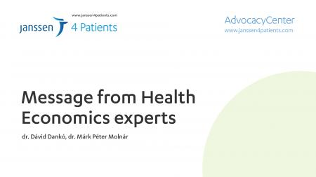Message from Health Economics experts